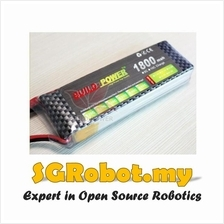 11.1V 25C 3S 1800mah Lipo Li-Po Rechargeable Lithium Battery