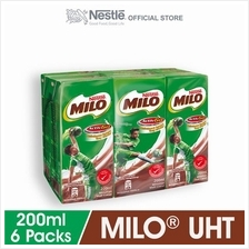 MILO ACTIV-GO RTD 6 Packs, 200ml Each)