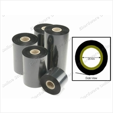 Wax Thermal Transfer Barcode Ribbons 25mm Core (BROS) (Open Stock)