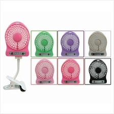 Mini/Portable 3 Speed Rechargeable Fan With Clip Stand