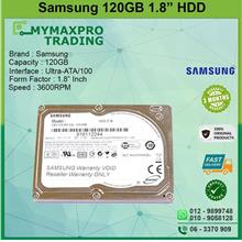 NEW Samsung 120GB 1.8'' Hard Disk ZIF PATA  3600RPM HS120JB/JM1