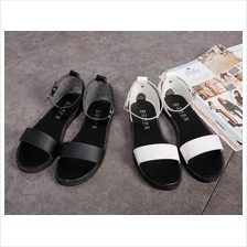 Women Simple Design Casual Flat Sandals Shoes (2 Color) MT022397