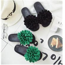 Women Huge Flower Design Casual Comfy Slipper (2 Color) MT022345