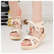 Women Bohemian Style Fashion Bead Casual Flat Sandals (3 Color) MT0223