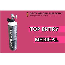 MEDICAL OXYGEN GAS CYLINDER WITH GAS MALAYSIA ( TANK ONLY)