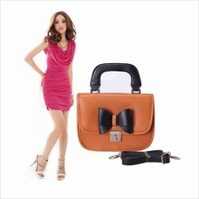 Cute Ribbon Bag Orange