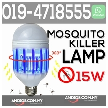 15W Anti-Mosquito Insect Zapper Flying Moths Killer Light lamp LED Bul