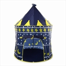 CHILDREN FOLDING PLAY HOUSE PORTABLE TOY TENT CASTLE PLAYHUT-DEEP BLUE  sc 1 st  Lelong.my & Play tent price harga in Malaysia - lelong