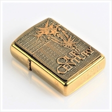 "New Gold ""Our Century"" Zippo Lighter"