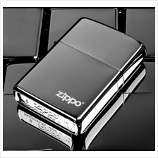 New Black Ice With Logo 150ZL Zippo Lighter