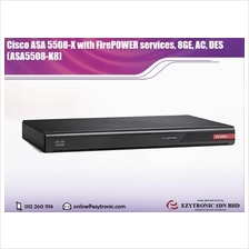 Cisco ASA 5508-X with FirePOWER services, 8GE, AC, DES