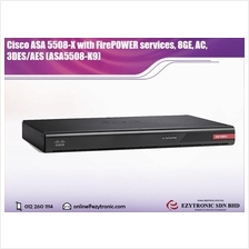 Cisco ASA 5508-X with FirePOWER services, 8GE, AC, 3DES/AES