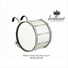 BRILLIANT MARCHING BASS DRUM