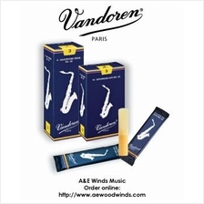 Vandoren Traditional Alto Saxophone Reeds - 1pc