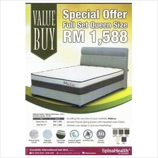 Goodnite Malice Queen King Double Tilam Mattress + Bed Frame Full Set