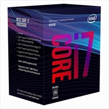 INTEL CORE I7 8700 3.2GHZ SOCKET 1151 PROCESSOR (BX80684I78700)