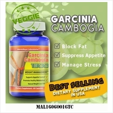 BUY 2 FREE 1 - Veggie GARCINIA CAMBOGIA 1300 Weight Loss Slimming Diet