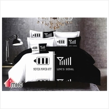 MHO_Ultra Soft King/Queen Size 4 Pcs Bedding Set_Signal