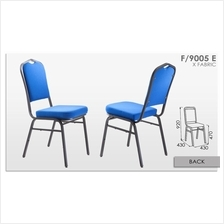 Banquet Chair With Cushion Fabric Seat Kerusi Pejabat Office F/9005 E