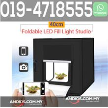 Mini Studio 40cm LED Light Box Photo Shooting Tent Product Lampu Kotak
