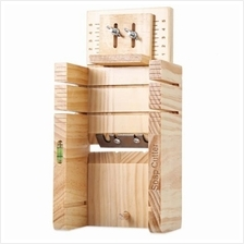 HOUSEHOLD WOODEN SOAP CUTTER BOX PINE MATERIAL BALANCING APPARATUS ACC