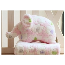 Mini Elephant Soft Cartoon Flannel Blanket For Baby Quilt Cover