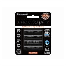 Panasonic eneloop Pro 4pcs AA 2550mAh Rechargeable Battery