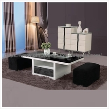 Coffee Table With Pull Out Seats YGT-9510W batu caves selayang Cheras