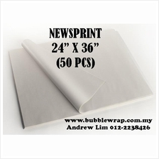 50pcs Newsprint Paper Sheets 24'x36' For Packing