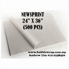 500pcs Newsprint Paper Sheets 24'x36' For Packing
