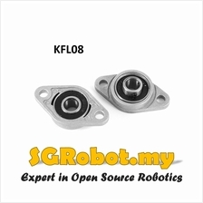 KFL08 Self Aligning Flange Shaft Holder Bearing , 8mm KFL Series