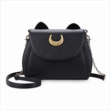 Cat Shape Sling Shoulder Bag