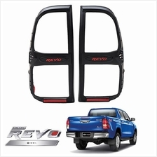 TOYOTA HILUX REVO TAIL LAMP COVER BLACK