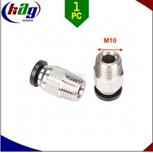 V6 J-Head Pneumatic Connectors PC4-01 1.75mm PTFE Tube For 3D Printer