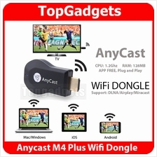 AnyCast M4+ TV Dongle WiFi Wireless HDMI EZCast Miracast Airplay DLNA