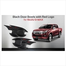 ISUZU DMAX '13 DOOR HANDLE BOWL COVER WITH RED LOGO
