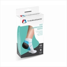 Thermoskin FXT Compression Socks Size L, Heel Pain & Plantar Fasciitis
