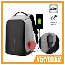 MYLO® USB Charging 15' Laptop Travel Backpack Anti Theft Bag