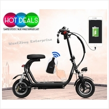 48v 10A 580W Foldable Passion Mini Harley Electric Scooter Recharge
