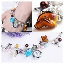ALIENWOLF Xclusive Lady Fashion Charm bracelet /w Watch (Free Giftbox)