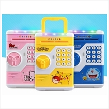 Real Auto Roll In Money Mini Electric Safe Box For Kids Plastic Toy