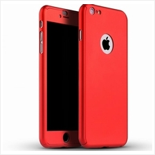 ... iPhone 6 plus 6s plus 360 Full Body Protection Case Tempered Glass