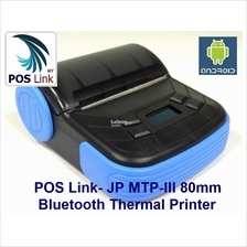 POS JP-MTPIII 80mm Bluetooth Portable Printer