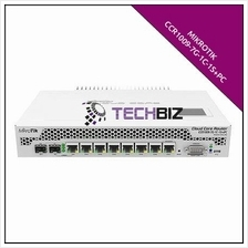 CCR1009-7G-1C-1S+PC Mikrotik 9 port SFP+ MPLS 10G Cloud Router