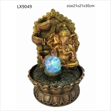 WATER FOUNTAIN - GANESHA 9049 WATER FEATURE FENG SHUI HOME DECORATION