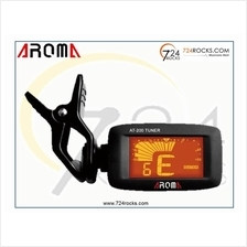 Aroma AT200 LCD Clip On Guitar Tuner For Chromatic Bass Violin