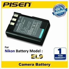 ORIGINAL PISEN Camera Battery EN-EL9 Nikon D5000 D60 D3000 D40 D40x