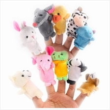 10 pcs Per Pack Finger Mini Puppets Toys Tell Story Props Animal Doll