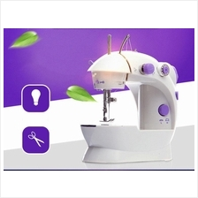 Powerful Mini Sewing Machine With Double Threads And Two Speed Control
