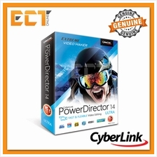 Genuine Cyberlink PowerDirector 14 Ultra Fast  & Flexible Video Editin